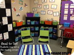 2nd Grade Stuff: The Centers That Have Saved My Classroom!  Very cute ideas here!