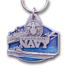 "Checkout our #LicensedGear products FREE SHIPPING + 10% OFF Coupon Code ""Official"" Key Ring - U. S. Navy - Officially licensed Military, Patriotic & Firefighter product    Navy - Price: $15.00. Buy now at https://officiallylicensedgear.com/key-ring-u-s-navy-kr7e"