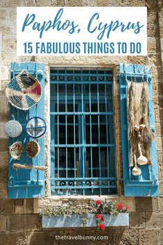 Fifteen fabulous things to do in Paphos Cyprus. Paphos travel guide - things to do in Pafos from archaeological sites UNESCO sites Tombs of the Kings mosaics coastal walks and the old town. European Destination, European Travel, European History, American History, Jet2 Holidays, Cyprus Paphos, Travel Around The World, Cyprus, Love