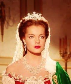 Romy Schneider as Empress Elisabeth 'Sissi' of Austria in Sissi - The Young Empress Romy Schneider, Sissi Film, Impératrice Sissi, Golden Age Of Hollywood, Classic Hollywood, Old Hollywood, Isabelle Huppert, Princesa Sissi, Empress Sissi
