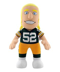 Love this Green Bay Packers Clay Matthews Jr. Plush Toy by Bleacher Creatures on #zulily! #zulilyfinds