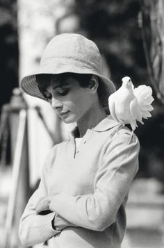 Title: AUDREY HEPBURN DURING THE FILMING OF 'TWO FOR THE ROAD', 1967  Artist: Terry O'Neill (1938, United Kingdom)