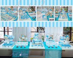 decoracao de festa azul 2