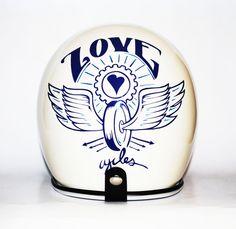 pinterest.com/fra411 #bike #art - LoveCycles AZ InspiredHelmet