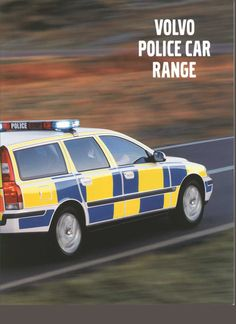 Volvo Police car brochure