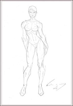 Kenneth Rocafort - Female Body