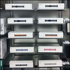 Apple Watch-Strap Color Array Display Retail Fixtures, Apple Watch, Display, Color, Floor Space, Billboard, Colour, Colors