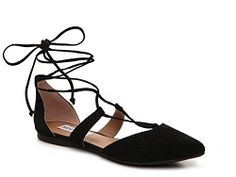 I like the heel support, black, pointed toe