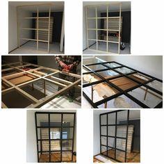 Have inspiration from Äntligen He # Finally # DIY glass wall DIY glass wall! Have inspiration from Äntligen He # Finally # DIY glass wall