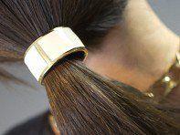 Hair Cuff by L. Erickson