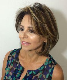 Medium Haircut With Bangs For Thin Hair
