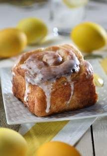 These sweet rolls have a cream cheese and lemon filling, but you can use just about any filling you like, including fig-walnut or pecan-raisin-cinnamon. Get the recipe!