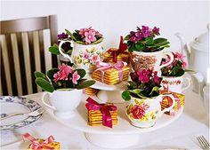 Divina Idéia - Arte e Design: Chá da tarde