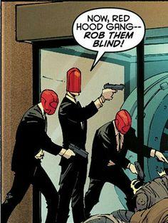 Red Hood Gang Detective Comics DC