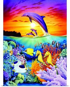 Seahorse Dolphins