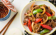 Voici le Wok Wok de bœuf à l'asiatique Weight Watchers, un plat délicieux qui prend 30 minutes de préparation, assez facile à faire