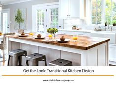Get the Look: Transitional Kitchen Design | The Kitchen Company