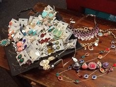 Bling Bling!  Time to add a little with these new arrivals at GracieGene's.