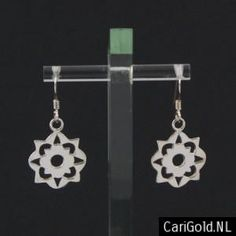 #Somewhere Else - #Marillion - Jewellery - Handmade Sterling silver Earrings (16mm)- EARSOM16 - Designed by Karin Hengeveld - to order check - www.CariGold.nl