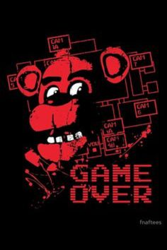 'Five Nights At Freddy's Pizzeria Game Over' Poster by fnaftees - Free HD Wallpapers Freddy S, Fnaf Golden Freddy, Five Nights At Freddy's, Indie Games, Horror, Fnaf Wallpapers, Scary Games, Freddy Fazbear, Fnaf Drawings
