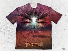 "Templo ""Sunset"" Men's Crew Neck T-Shirt by Pulse Of Prophets Part of the Templo x Pulse Of Prophets collaboration series This piece is printed exclusively for Vibrant Colors, Finding Yourself, Crew Neck, Pop, Sunset, Prints, Artwork, Artist, Temple"