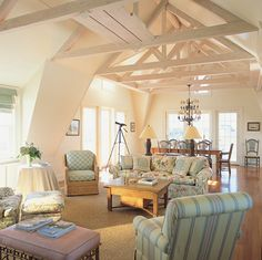 exposed beams = love   # Pin++ for Pinterest #