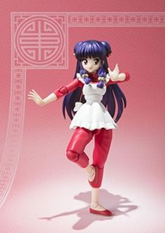 Bandai S.H.Figuarts Ranma 1/2 shampoo action figure from Japan new