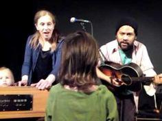 Julia sings Twinkle, Twinkle Little Star with Elizabeth Mitchell and Dan...