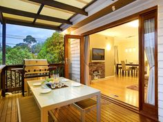 pics of back doors to decks   French Doors - Weddings, Babies and Life in General