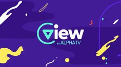 "We were invited by Alpha TV to design and animate the logo for its Web Tv Platform named VIEW. The letter ""V"" rotated, gave us the ""PLAY"" icon…"
