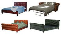 Betten / Schlafsofas Chesterfield Sofas, Vintage Sofa, Outdoor Furniture, Outdoor Decor, Sun Lounger, Bed, Home Decor, Beds, Armchair