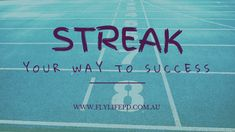 Wanna be a streaker? Did you just picture your bouncing body parts flying across a footy oval? Not THAT kind of streaking! Streaking your habits builds confidence and success by tracking your wins every single day. Confidence Building, Singles Day, Body Parts, Personal Development, Something To Do, Success, Life, Freshman Year, Life Coaching