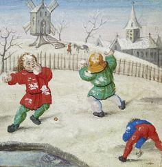 Χριστούγεννα τον Μεσαίωνα – Χείλων Medieval Games, Medieval Life, Medieval Art, Medieval Music, Medieval Clothing, Renaissance, Medieval Manuscript, Illuminated Manuscript, Snowball Fight
