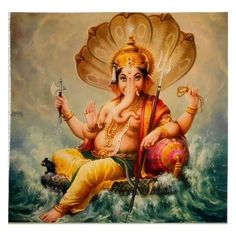 Shri Ganesh Images, Ganesha Art, Radha Krishna Images, Krishna Art, Mythological Characters, Lord Hanuman Wallpapers, Pooja Room Door Design, Ganesh Statue, Hindu Mantras