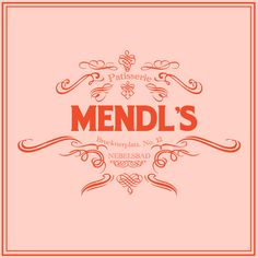 Mendl's Patisserie  Inspired by The Grand Budapest Hotel. A staple of the Grand Budapest and Nebelsbad at-large, Mendl's Patisserie became the one artistic factory that would survive every regime change in its path. Herr Mendl's signature creation and most singular accomplishment -- we refer, of course, to the Courtesan au Chocolat --remains, to this day, the true and popular symbol and herald of a small mountainous nation.