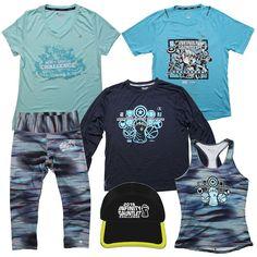 Merchandise for Super Heroes Half Marathon Weekend 2016 at Disneyland