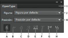 Adobe Illustrator * Caracteres especiales
