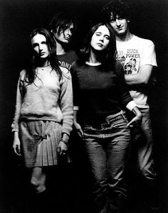 Veruca Salt... because I still love me some 90s girl band music!