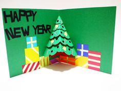 handmade pop up christmas card 22