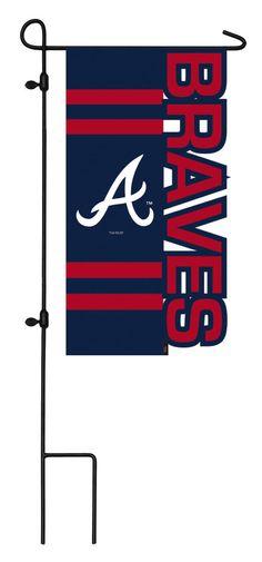 The Official Online Shop of Major League Baseball Braves Baseball, Baseball Cap, Atlanta Braves, Evergreen Enterprises, Outdoor Flags, Mlb, Garden, Shop, Products