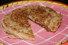 Grilled Peanut Butter and Banana Pockets