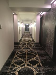 Loews Chicago Hotel (IL) - Hotel Reviews - TripAdvisor Hotel Hallway, Hotel Corridor, Hallway Carpet, Axminster Carpets, Corridor Design, H Hotel, Chicago Hotels, Hallway Designs, Patterned Carpet