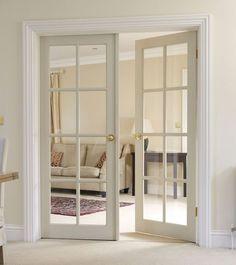 Türen - The Doors - tur Interior Sliding French Doors, French Doors Bedroom, Glass French Doors, Interior Barn Doors, Glass Doors, Exterior Doors, Bedroom Doors, Double Bedroom, Interior Paint