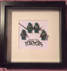 Teenage mutant ninja turtles lego frame Lego Frame, Teenage Mutant Ninja Turtles, Art Pieces, Gifts, Decor, Presents, Decoration, Artworks, Art Work