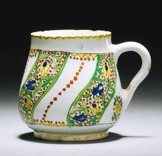 A Kütahya pottery cup, Turkey, early 18th century | Lot | Sotheby's