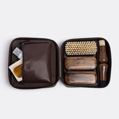 """158 Likes, 3 Comments - WallpaperSTORE* (@store.wallpaper) on Instagram: """"Shop it now at www.store.wallpaper.com, link in bio. This shoe care set by Cedes Milano is the…"""""""