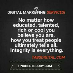 You can have a certain arrogance, and I think that's fine, but what you should never lose is the respect for the others.  Happy #Wednesday!   DIGITAL MARKETING SERVICES!   http://findbestbuddy.com  http://tabsdigital.com