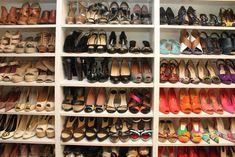 closet design ideas shoes | ... -arrangement-of-beautiful-shoes-amazing-shelving-built-in-shoe-closet