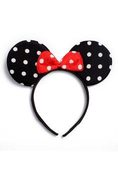 Polka Dot Mouse Headband – Riah Fashion