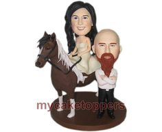 Check out this item in my Etsy shop https://www.etsy.com/listing/101508936/wedding-cake-toppers-custom-cake-topper